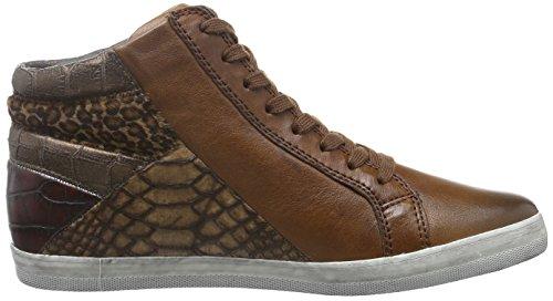 Gabor Shoes 56.426, Scarpe da ginnastica alte Donna Marrone (sattel k. Micro)