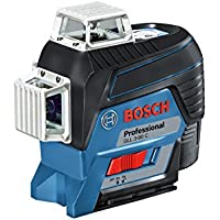 Bosch Professional 0601063R00 Laser Lignes GLL 3-80 C 3 Plans Connecté Boîte Carton, Bleu