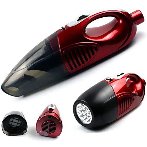 BAACHANG Handauto Vakuum Lithium-Akku Nass Trockensauger Powerful bewegliches Vakuum Adapter Ladekabel für Haus und Kfz-Reinigung (Farbe : Red) (Akku Shop-vac)