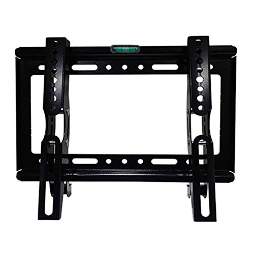 14-42 Zoll Universal TV Bracket Wall Mounted LCD TV Rack with Built-In Spirit Level Adjustable Up and Down 15 ° Super Strong 25kg Gewichtskapazität 37 Universal Tilt Wall
