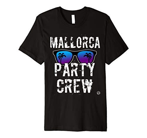 MALLORCA PARTY CREW SHIRT - Malle T-Shirt 2020 Damen Herren T-Shirt