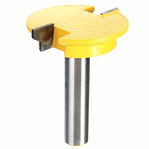 Shaker-stil Holz (wishfive 1/5,1cm Schaft Schiene Stil Router Bit Shaker Holz-Meißel Cutter Set)
