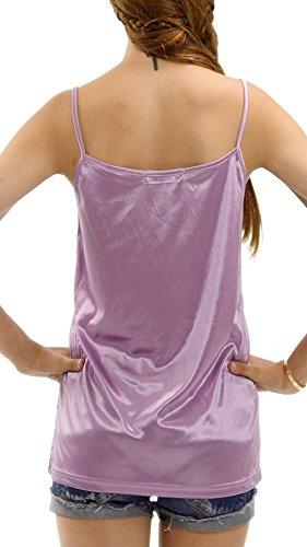 Melody Damen Unterkleid Lavendel