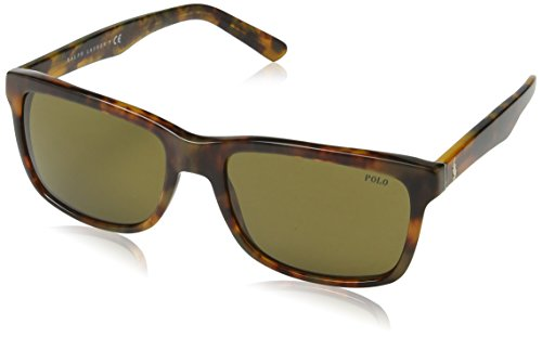 Ralph lauren polo occhiali da sole mod.4098 jerry tortoise/olive, 57