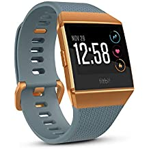 Fitbit FB503CPBU Ionic Smartwatch (Slate Blue/Burnt Orange)