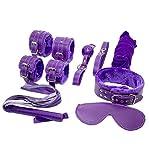 Binggong Sex Toys Sex Toys Kit de retenue 7PCS / Set Menottes Adultes Fantaisie Sex Toys Cosplay Bandage Fétiche De Contrainte SM...