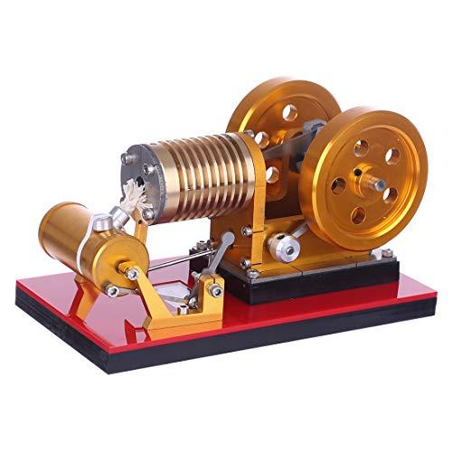 MRKE Stirlingmotor Bausatz Generator Kupfer-Luftzylinder Stirling Engine Model Kit Physik Wissenschaft Experiment Unterricht Steam DIY STEM Spielzeug Geschenk