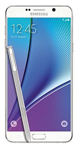 Samsung Galaxy Note 5 32GB weiß (white pearl) Smartphone (5,7 Zoll (14,4 cm), Super AMOLED Display, 16 Megapixel Kamera, S-Pen, 4GB RAM) Handy
