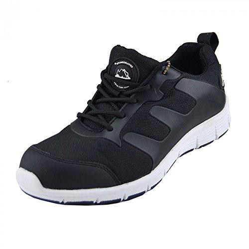 Kick FootwearKick Footwear - Sandali  uomo , Multicolore (Nero-bianco), 37