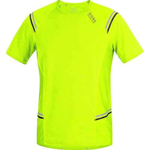 Gore Running Wear Mythos 6.0 - Camiseta para hombre, color amarillo, t