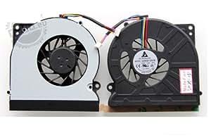OUBO ventilateur de processeur pour ordinateur portable aSUS x72DR x72V x72VN x72D ventilateur fan cooler pc portable, notebook