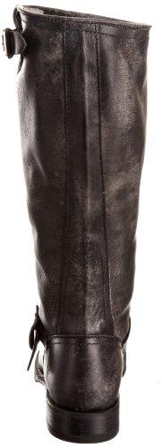 Frye Veronica Slouch, Bottes femme Black Calf Shine Vintage-77609