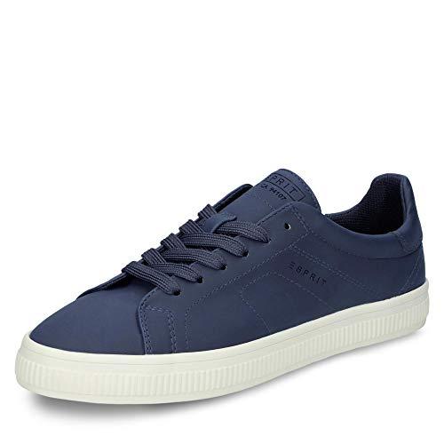 ESPRIT 019EK1W025-400 Sonetta Lu Damen Sneaker aus Lederimitat mit Textilfutter, Groesse 40, blau