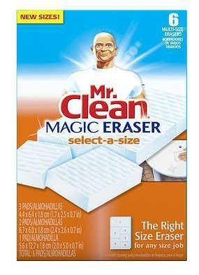 proctor-and-gamble-83029-sel-mr-clean-magic-eraser-select-a-size-pack-of-6-by-pg