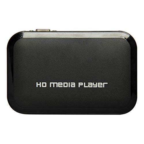 1949shop Full HD 1080P HDMI Media Player-Center TV Festplatte MKV SD USB MP4 RM RMVB MPEG AVI Digitales Auto-Play Loop-Play (Speichergerät Sd-karte)