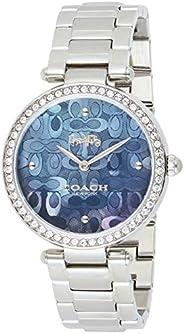 Coach Womens Quartz Wrist Watch, Analog and Stainless Steel- 14503221