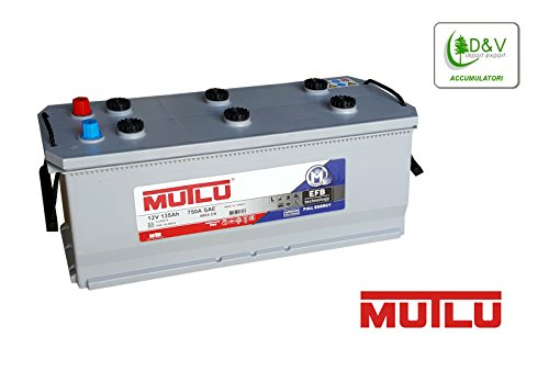 MUTLU BATTERIE 135Ah FULL ENERGY EFB