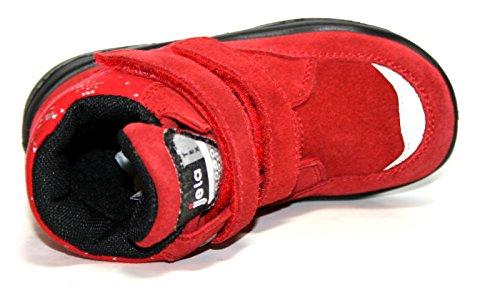 Jela - Filles Tex Chaussures enfants 61126 Mi-bottes bottines Rouge (rouge 22)