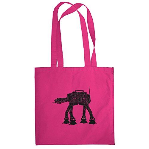 Texlab–At At Boom Box–sacchetto di stoffa Pink