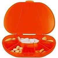 mehrtägige vitacarry 8fach Pillendose für bis zu 60Pillen die tatsächliche Größe: 4,5W x 3.0D X .93h ( preisvergleich bei billige-tabletten.eu