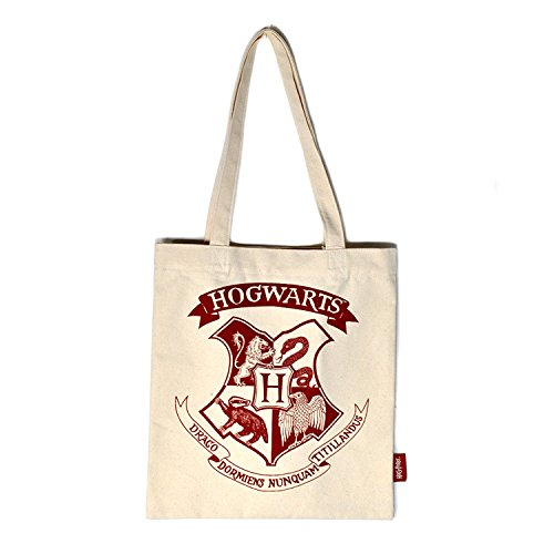 Harry Potter - Shopper Tasche - Hogwarts - Logo