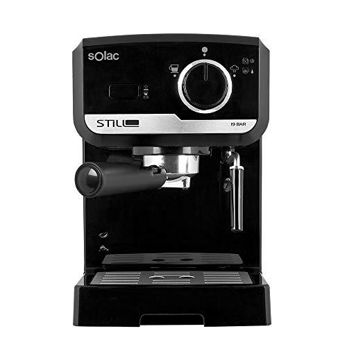 Solac CE4493 - Cafetera Espresso 19 Bar, bomba de presión 19 bares,...