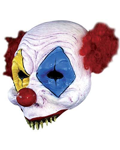 Sharky Gus Clown Halbmaske ()