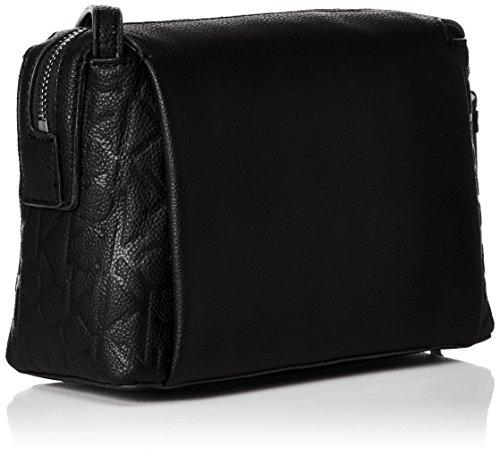 Calvin Klein Damen Mish4 Small Crossbody Umhängetasche, 9x14x20 cm Black