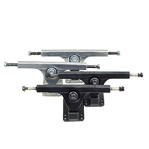 Apollo Longboard Achse – FatCat – Silver Oder Black – 7 Inch/178 mm Longboard-Achsen Set/Trucks – Truck Set mit 2 Achsen