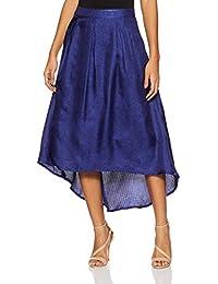 global desi Women's Pleated Skirt
