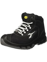 Diadora - Diablo High S3 Ci, zapatos de trabajo Unisex adulto, Negro (Nero), 44 EU