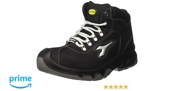 Diadora Diablo High S3 Ci, Unisex Adults' Work shoes, Black (Nero), 9.5 UK (44 EU)