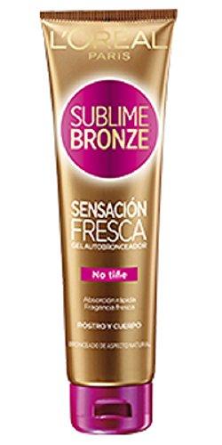 L'Oréal Sublime Bronze Self Tan Fresh Feel Gel Face/Body, 150ml