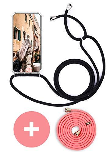 Handykette Handyhülle mit Band für Huawei Mate 10 Pro Cover - Handy-Kette Handy Hülle mit Kordel Umhängen -Handy Halsband Lanyard Case/Handy Band Halsband Necklace
