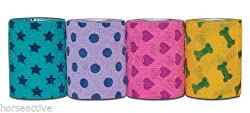 Petflex Petpack Assorted Patterns. Pack X 6 Bandages 5cm Wide