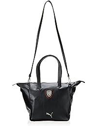 PUMA Umhängetasche Ferrari LS Handbag - Mochila, color negro, talla 36.5 x 22 x 11.5 x 11.5 , 13.0 l