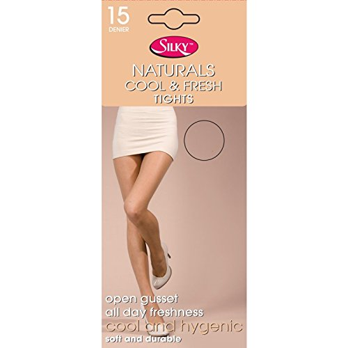 Silky Naturals Cool & Fresh Crotchless Tights