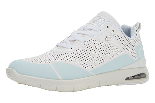 British Knights Demon Herren Sneakers Blanc/vert menthe clair