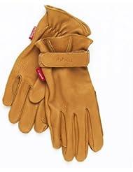 Toggi Bayham - Guantes de hípica (piel), varios colores marrón canela Talla:xx-large