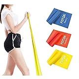 Potok Premium Gymnastikband Set – 3 Fitnessbänder