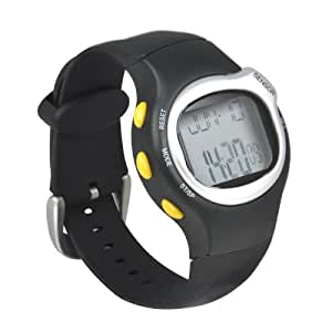 Heart Rate Pulse Monitor Watch Sports Fitness Gym Exercise Calorie Counter Alarm Clock Unisex By AoE Performance