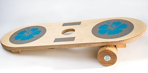 GOOD WOOD FUN-Board Indoor Skateboard - Balance- Stabilität- Gleichgewichts-Trainer für Kinder und Erwachsene