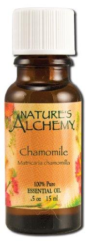 Camomille romaine, Huile Essentielle, .5 oz (15 ml) - Alchimie de la nature