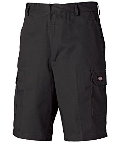 ► Dickies Redhawk Cargo Shorts ◄ verschieden Farben, WD834, 260gr/m² (56, Schwarz)