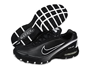 pdmym Nike Men\'s NIKE AIR MAX TORCH III LEA RUNNING SHOES 8 (BLACK/WHITE
