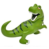 Bobble Art Large Resin Dinosaur Money Box. Ideal Dinosaur Gifts for Boys and Girls. Dinosaur Money Pot Tin Bank Piggy Bank (Great Dinosaur Gifts for Boys 7 Years Old )