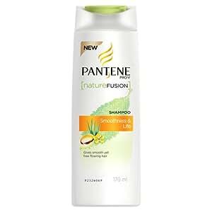 Pantene Nature Fusion Smoothness and Life Shampoo, 170ml