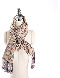 HITSAN INCORPORATION Scarves Women S Scarf Winter Warm Fashion Ponchos And  Capes Cotton Clothing Wool Accessories Apparel ef727d9572a