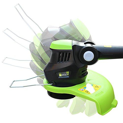 Alices-Garden-VOLTR-Dbroussailleuse-sans-fil-VOLTR-25cm-coupe-bordures-lectrique-avec-batterie-Lithium-Ion-chargeur-20V-Normes-CE