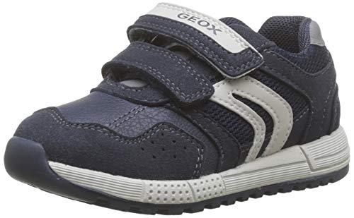 Geox Baby Jungen B ALBEN Boy A Sneaker, Blau (Navy/Grey C0661), 21 EU